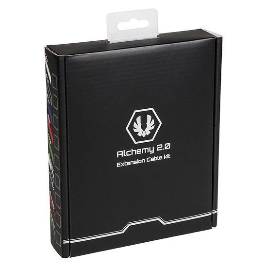 Alimentation BitFenix Alchemy - Extension Cable Kit - noir et blanc - Autre vue