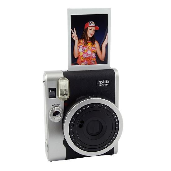 Appareil photo compact ou bridge Fujifilm Instax MINI 90 Neo Classic Noir + Film Instax Mini Bipack - Autre vue