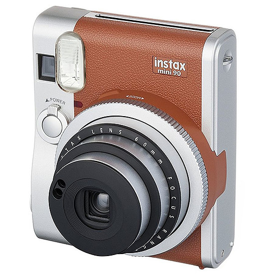 Appareil photo compact ou bridge Fujifilm Instax Mini 90 Neo Classic Marron + Film Instax Mini Bipack - Autre vue