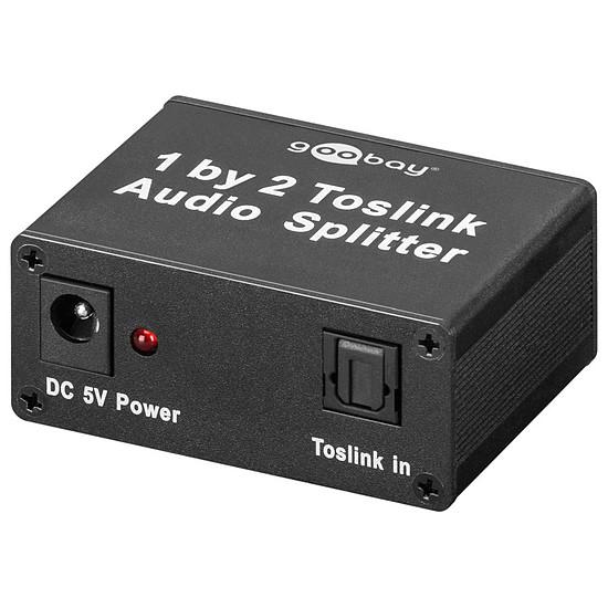 Câble audio numériques Répartiteur Toslink 2 ports