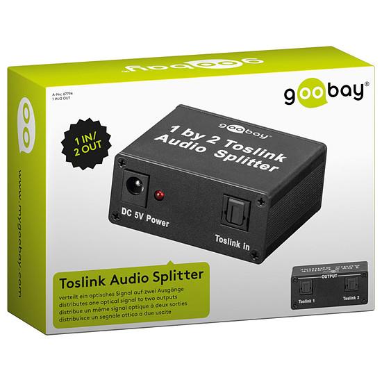 Câble audio numériques Répartiteur Toslink 2 ports - Autre vue