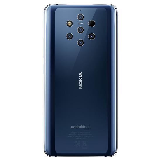 Smartphone et téléphone mobile Nokia 9 PureView (bleu) - 128 Go - 6 Go + Nokia True Wireless Earbuds (noir) - Autre vue