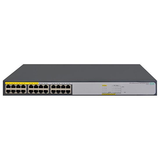 Switch et Commutateur HPE - OfficeConnect 1420 24G PoE+