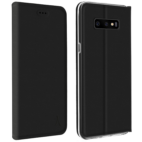 Coque et housse Akashi Etui Folio (noir) - Samsung Galaxy S10e - Autre vue