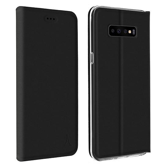 Coque et housse Akashi Etui Folio (noir) - Samsung Galaxy S10+