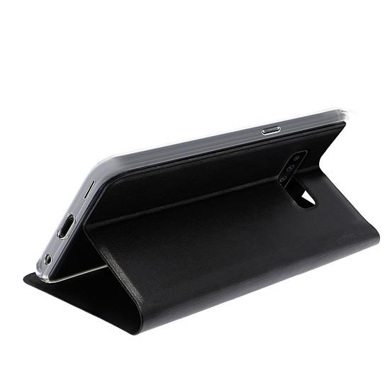 Coque et housse Akashi Etui Folio (noir) - Samsung Galaxy S10+ - Autre vue