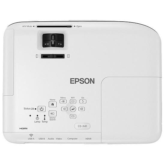 Vidéoprojecteur Epson EB-X41 - Tri-LCD XGA - 3600 Lumens - Autre vue
