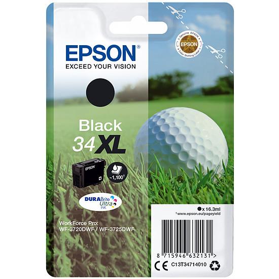 Cartouche d'encre Epson Noir 34XL