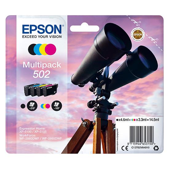 Cartouche d'encre Epson MultiPack 502