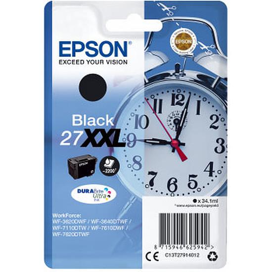 Cartouche imprimante Epson Noir 27XXL