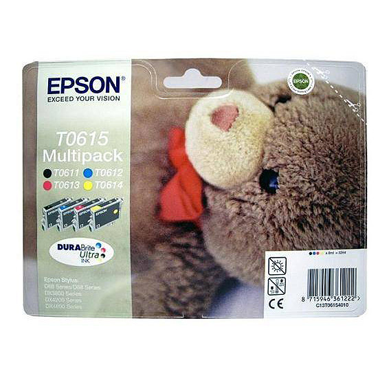Cartouche imprimante Epson T0615 MultiPack
