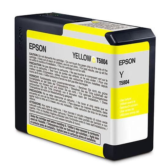 Cartouche imprimante Epson Jaune T5804