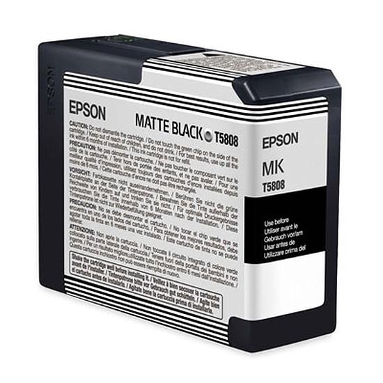 Cartouche imprimante Epson Noir Mat T5808