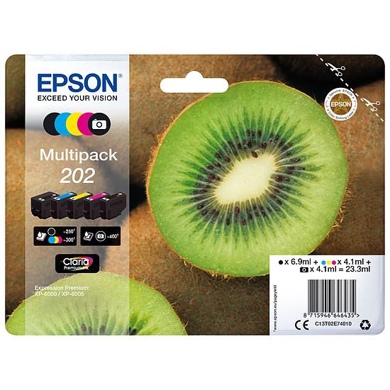 Cartouche d'encre Epson Multipack 202