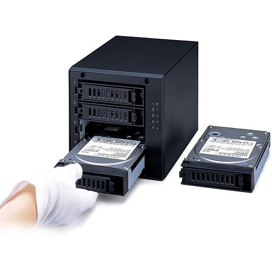 Disque dur externe Buffalo DriveStation Quad 24 To (4 x 6 To) - Autre vue