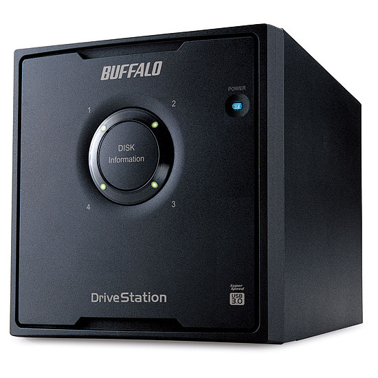 Disque dur externe Buffalo DriveStation Quad 8 To (4 x 2 To)