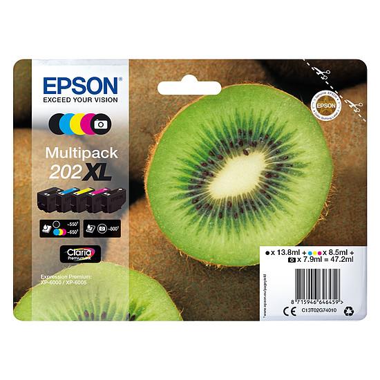Cartouche d'encre Epson Multipack 202XL