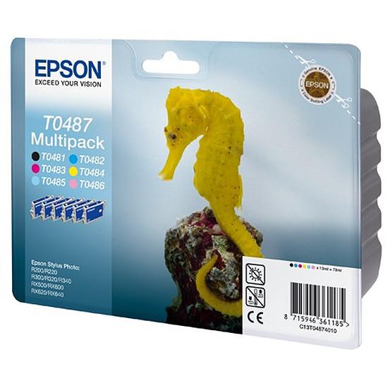 Cartouche imprimante Epson T0487 MultiPack