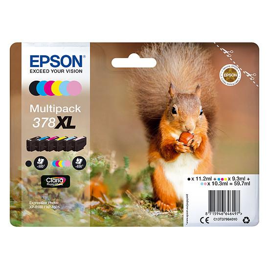 Cartouche imprimante Epson Multipack 378XL