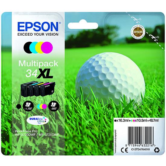 Cartouche imprimante Epson Multipack 34XL