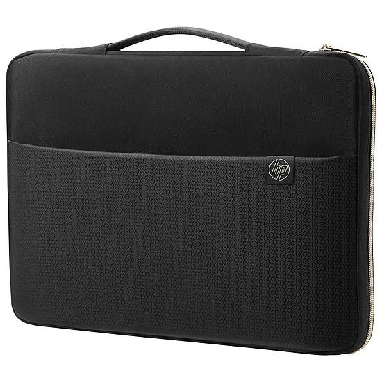 """Sac, sacoche et housse HP Carry Sleeve 15"""" Noir/Or"""