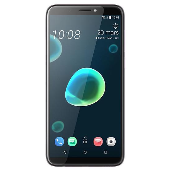 Smartphone et téléphone mobile HTC Desire 12+ (argent) - 32 Go - 3 Go