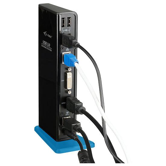 Station d'accueil PC portable i-tec USB 3.0 Dual Docking Station USB Charging Port - Autre vue