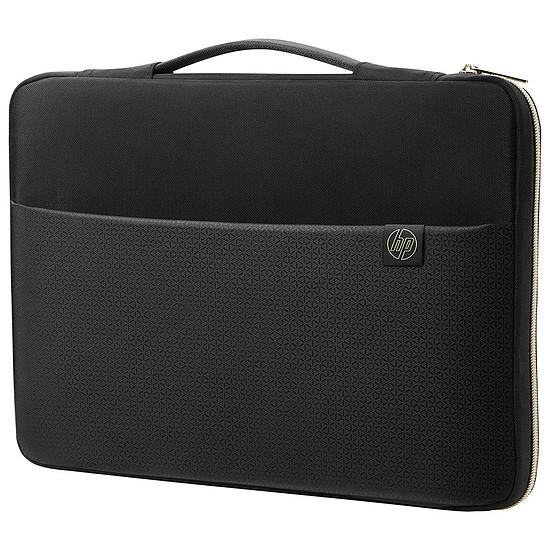 """Sac, sacoche et housse HP Carry Sleeve 17"""" Noir/Or"""
