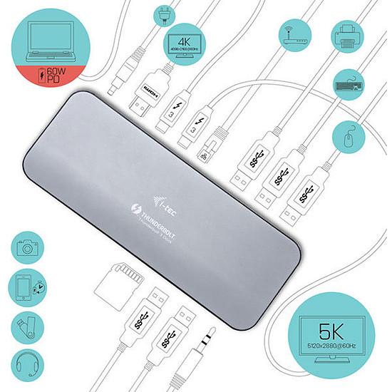 Station d'accueil PC portable i-tec Thunderbolt 3 Dual 4K Docking Station + Power Delivery - Autre vue