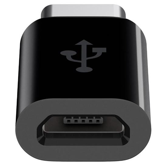 Adaptateurs et câbles Belkin adaptateur micro USB vers USB Type C (noir) - Autre vue
