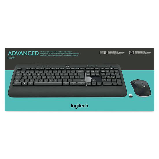 Pack clavier-souris bureautique Logitech MK540 - Autre vue