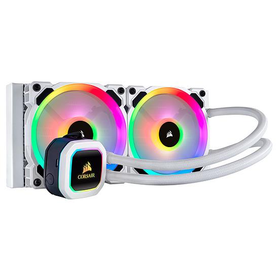 Refroidissement processeur Corsair Hydro Series - H100i RGB Platinum SE