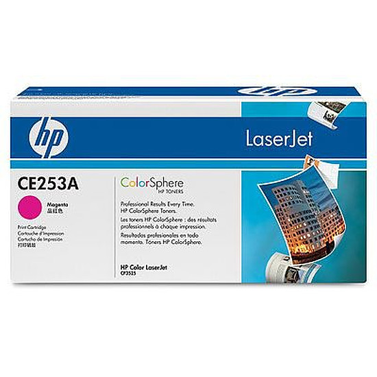 Toner imprimante HP CE253A