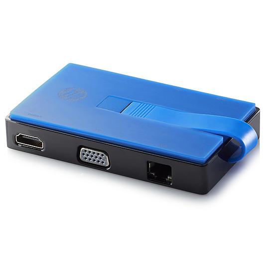Station d'accueil PC portable HP USB Travel Dock (T0K30AA) - Autre vue