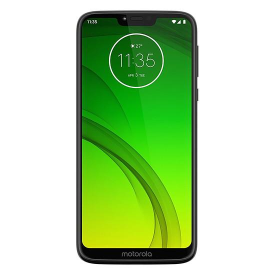 Smartphone et téléphone mobile Motorola Moto G7 Power (noir) - 64 Go - 4 Go