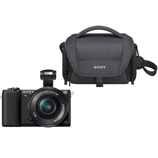 Appareil photo hybride Sony Alpha 5100 + 16-50 mm Noir + LCS-U21 Noir