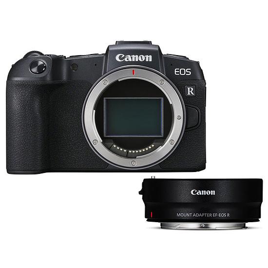 Appareil photo hybride Canon EOS RP + EF-EOS R