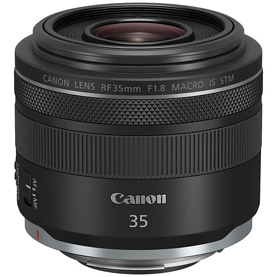 Objectif pour appareil photo Canon RF 35mm f/1.8 IS Macro STM - Occasion · Occasion