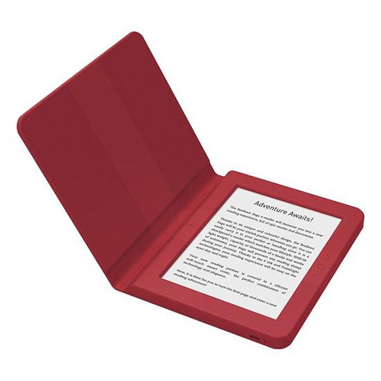 Liseuse numérique Bookeen Saga (rouge) - 8 Go