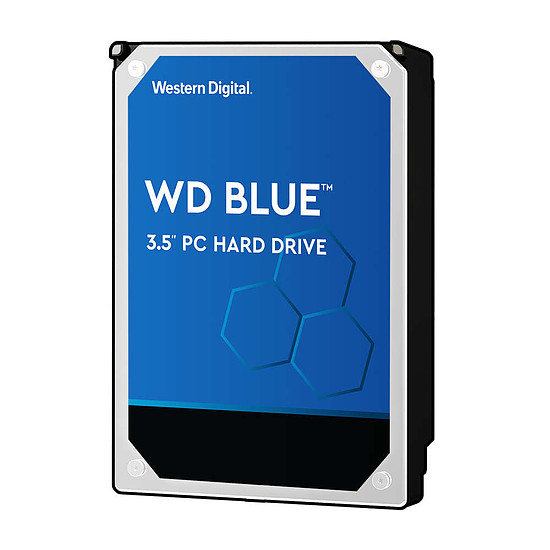 Disque dur interne Western Digital WD Blue - 6 To - 64 Mo