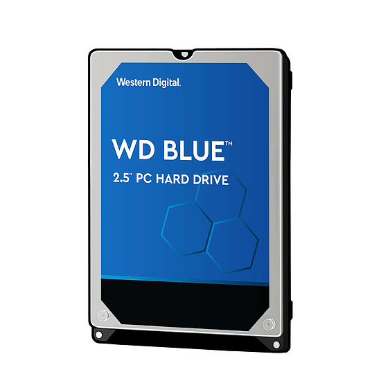 Disque dur interne Western Digital WD Blue Mobile - 1 To - 8 Mo