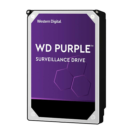 Disque dur interne Western Digital WD Purple - 8 To - 128 Mo