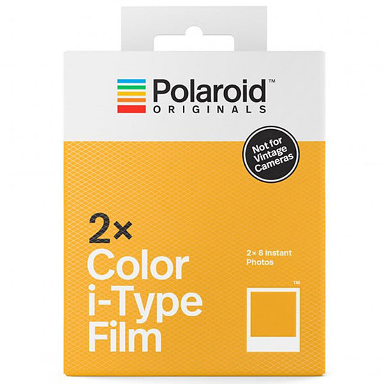 Accessoires Photo Polaroid Color i-Type Film Double Pack
