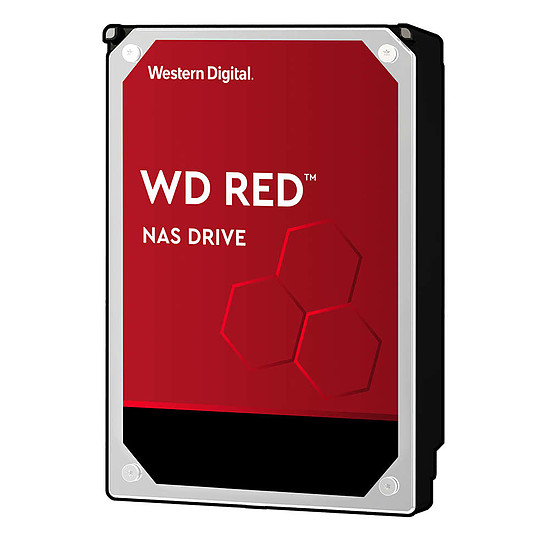 Disque dur interne Western Digital WD Red - 4 To - 64 Mo - Pack de 2