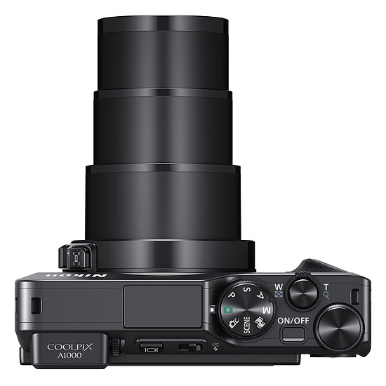 Appareil photo compact ou bridge Nikon Coolpix A1000 Noir - Autre vue