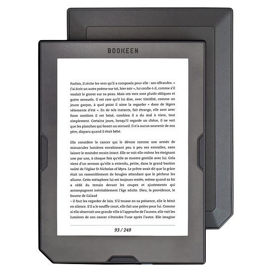Liseuse numérique Bookeen Cybook Muse HD (gris) - 8 Go