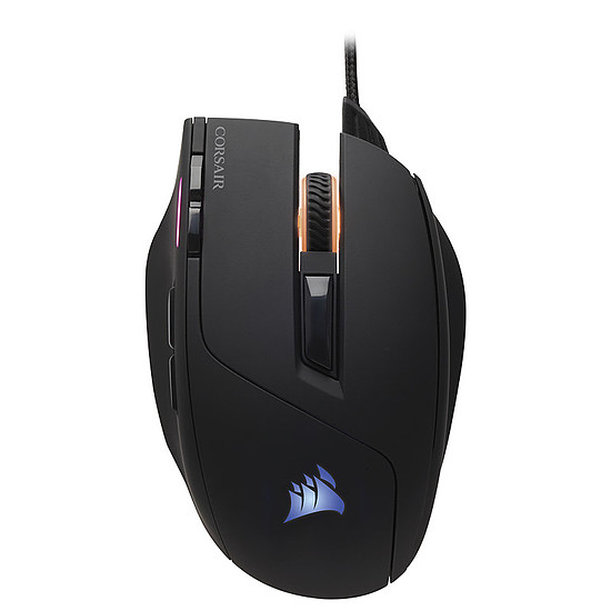 Pack clavier-souris Gaming Corsair K55 RGB + Sabre RGB - Autre vue