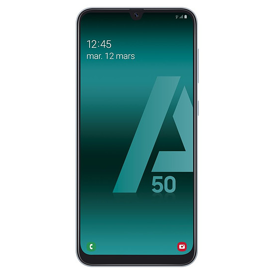 Smartphone et téléphone mobile Samsung Galaxy A50 (blanc) - 128 Go - 4 Go