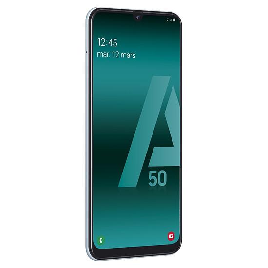 Smartphone et téléphone mobile Samsung Galaxy A50 (blanc) - 128 Go - 4 Go - Autre vue
