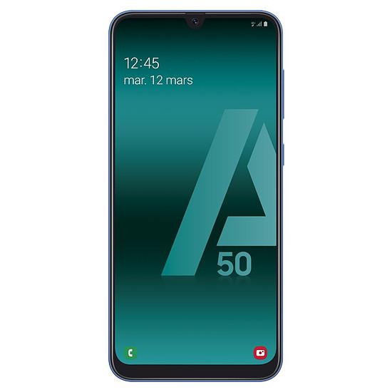 Smartphone et téléphone mobile Samsung Galaxy A50 (bleu) - 128 Go - 4 Go